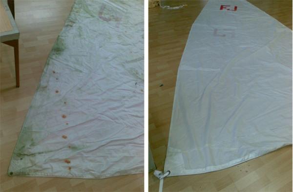 Čišćenje šatora1