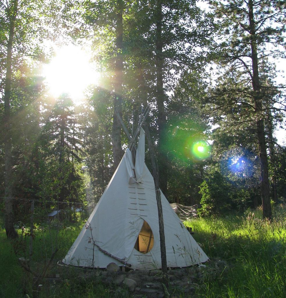 Šator postavila djeca