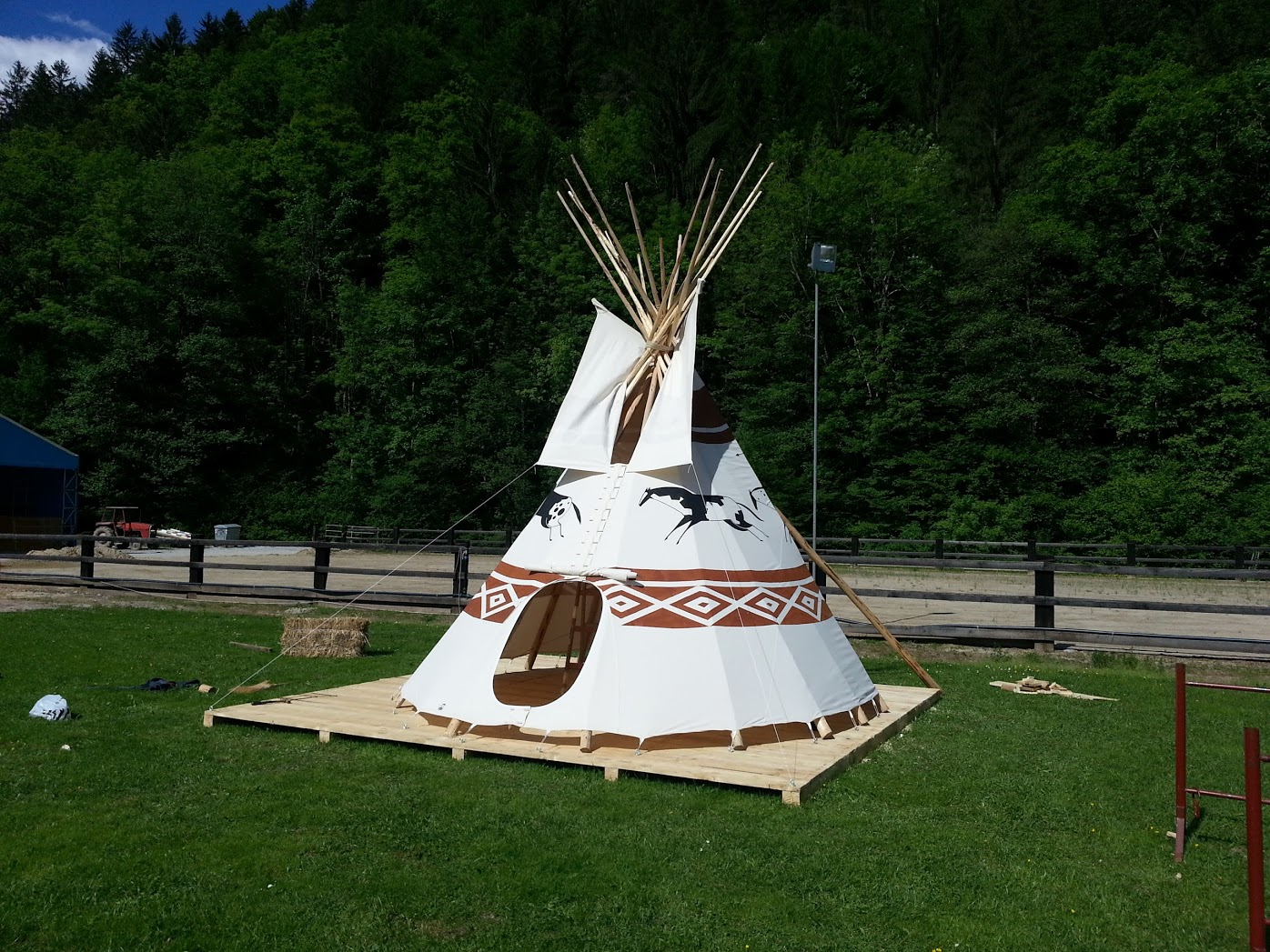Dječji indijanski šator